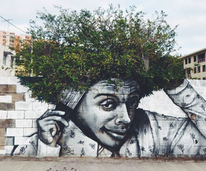 art, cool, and tree image