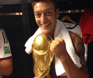 Özil, germany, and world cup image