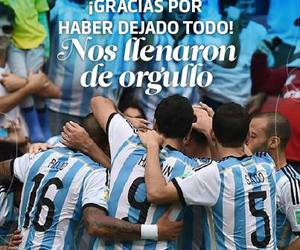argentina, subcampones, and world cup image