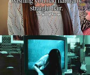 hair, funny, and The Ring image