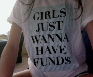 girl, funds, and grunge image