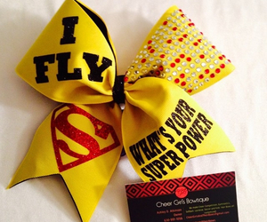bows, cheer, and love image