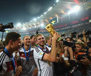 football, germany, and trophy image