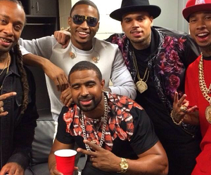 breezy, ty dolla $ign, and chris brown image