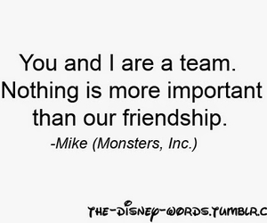 disney, friendship, and monsters inc image