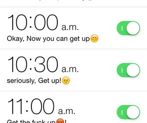 alarm, lol, and summer image
