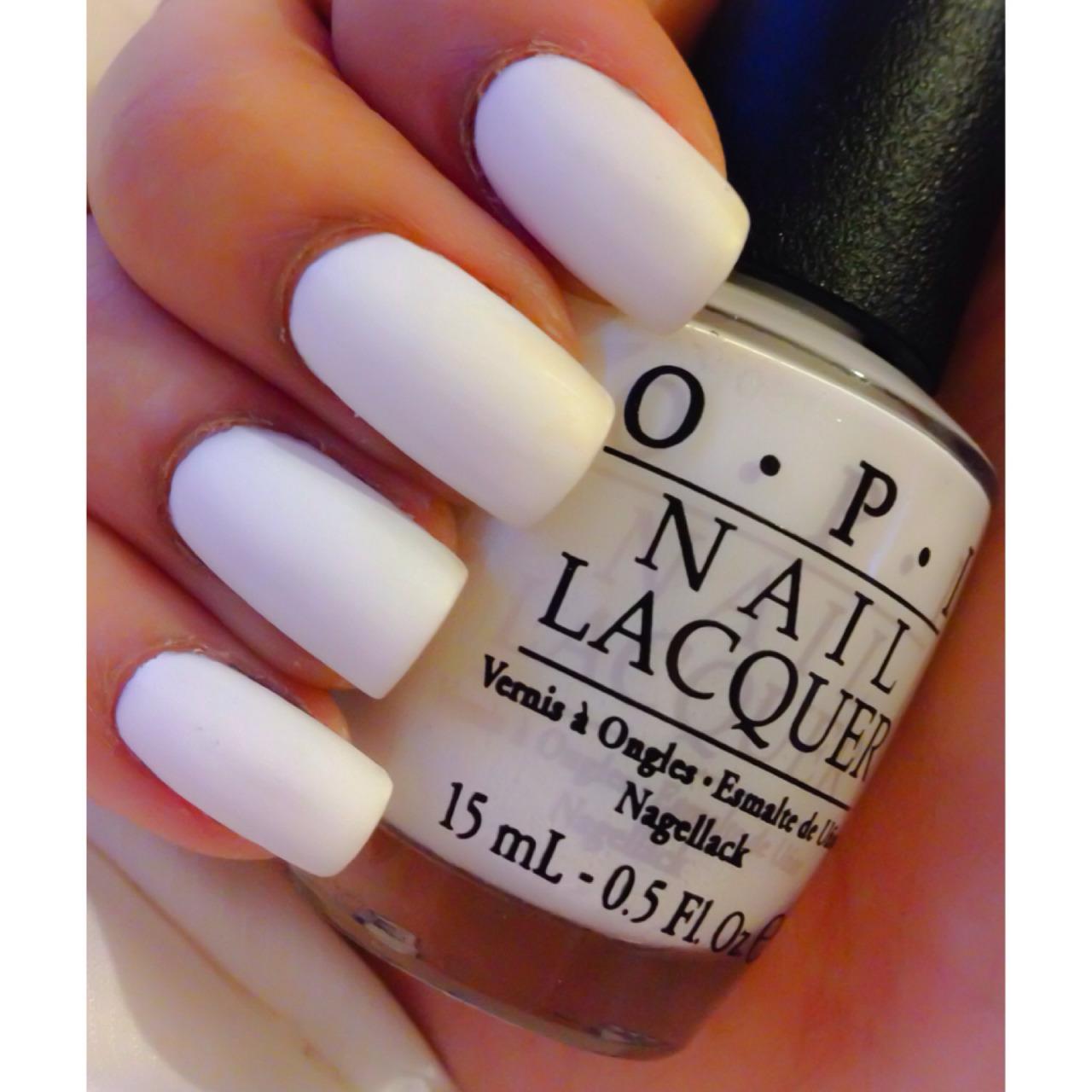 matte nail polish | Tumblr on We Heart It