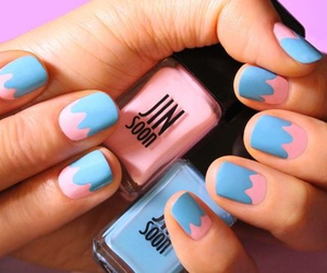 blue, pink, and tape image