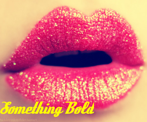bold, girl, and glitter image