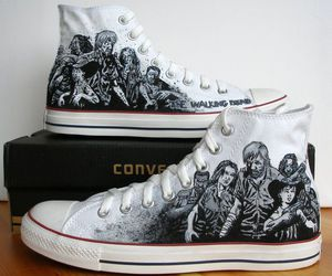 converse, converse shoes, and shoe image