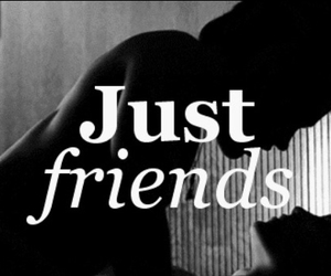 just friends, justfriends, and love image