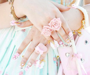 acessories, pink, and adorable image