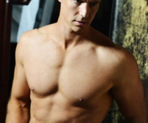 abs, actor, and beautiful image
