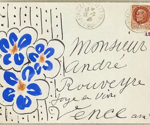 drawing, Letter, and matisse image