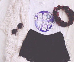 fashion, outfit, and good vibes image