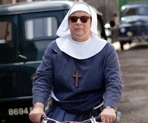 bbc, bike, and nun image
