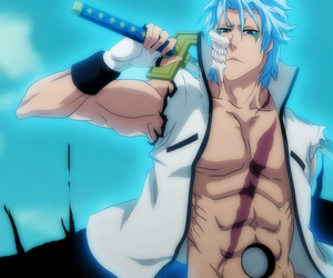 bleach, grimmjow, and sword image