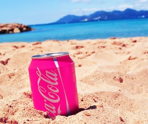 coca, fresh, and summer image
