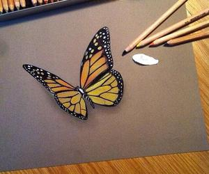 3d, butterfly, and nature image
