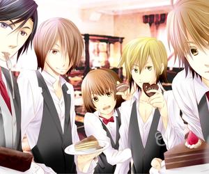 cafe, mi-chan, and kettaro image