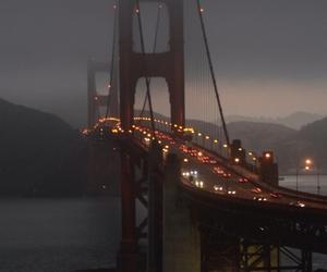 san francisco, bridge, and golden gate bridge image