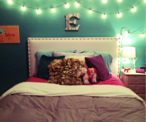 hipster, lights, and room image
