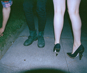shoes, cigarette, and hipster image