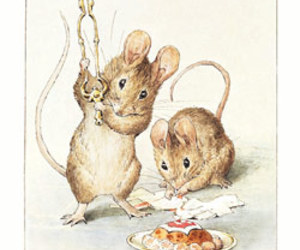 beatrix potter, mouse, and two bad mice image