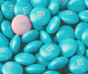 blue, m&m, and pink image