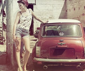 car, fashion, and model image