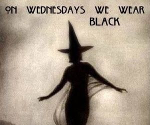black, clothes, and Witches image