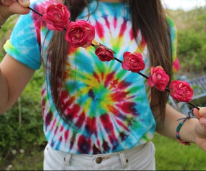 tumblr, quality, and flower crown image