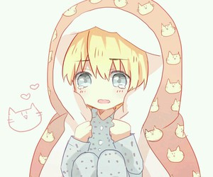 anime, kawaii, and armin image