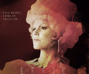 catching fire, the hunger games, and effie image