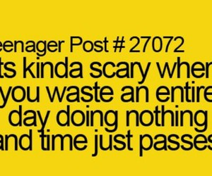 nothing, scary, and passes image