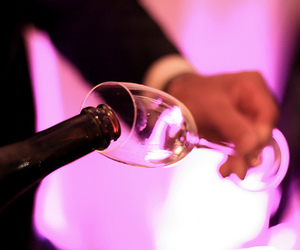 champagne and party image