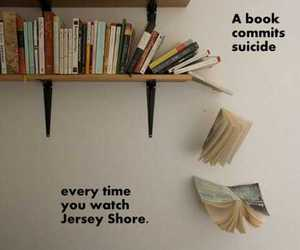 book, jersey shore, and suicide image