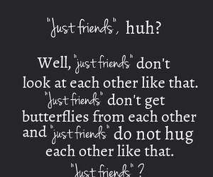 butterflies, just friends, and hug image