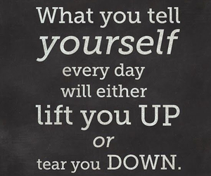 quote, tear you down, and lift you up image