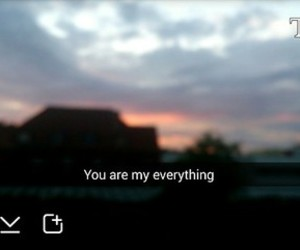 everything, you, and snapchat image