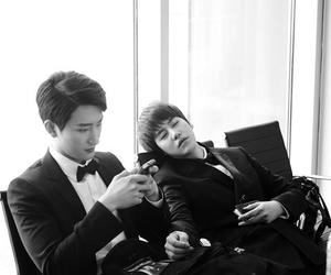 kyuhyun, ZhouMi, and super junior image