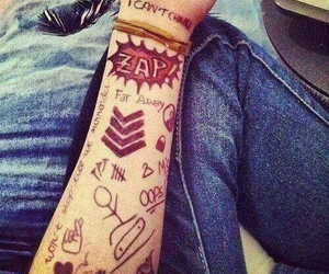 tattoo, one direction, and 1d image