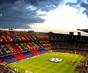 29 images about fcb hd wallpapers on we heart it see - Camp nou 4k wallpaper ...