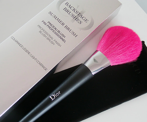 dior, pink, and Brushes image
