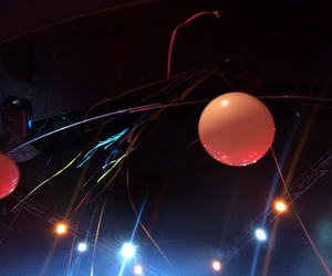 balloons, summer, and lights image