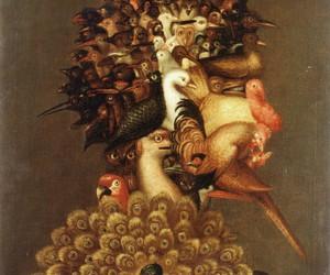 Giuseppe Arcimboldo and birds image