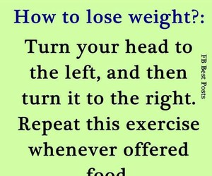 funny, weight, and food image