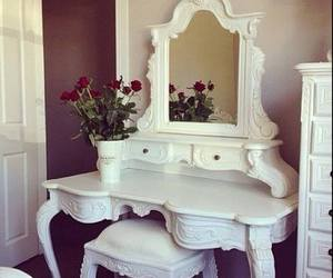 room, rose, and white image