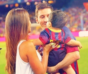 messi, family, and football image