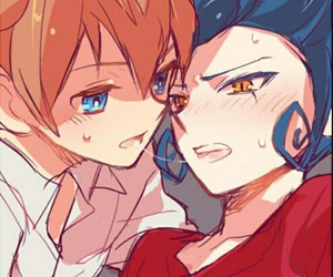 inazuma eleven yaoi and victor & arion image